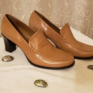 Franco Sarto high heeled loafers